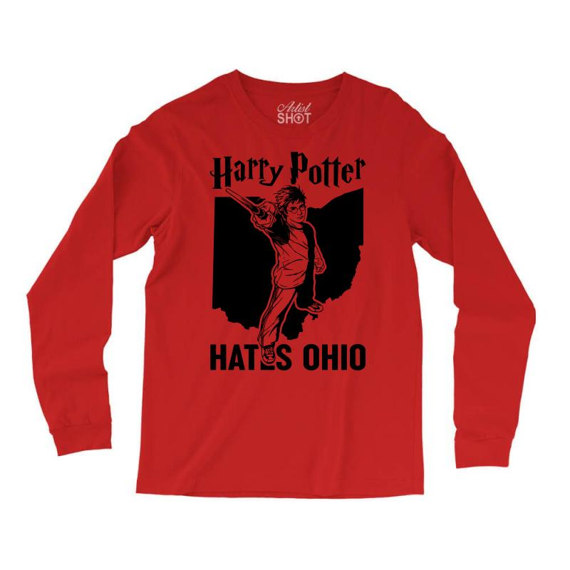 Harry Potter Hates Ohio Long Sleeve Shirts | Artistshot