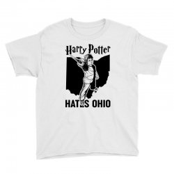 Harry Potter Hates Ohio Youth Tee | Artistshot