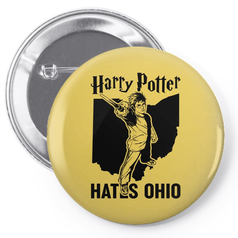 Harry Potter Hates Ohio Pin-back Button | Artistshot