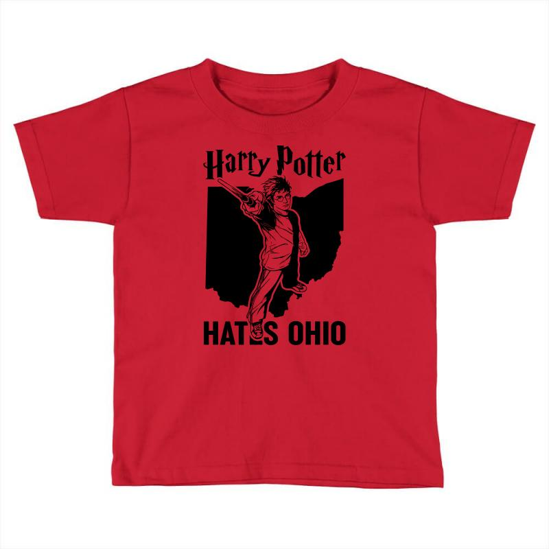 Harry Potter Hates Ohio Toddler T-shirt | Artistshot
