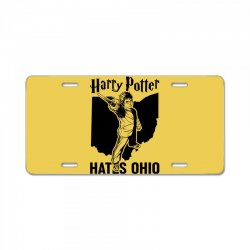 Harry Potter Hates Ohio License Plate | Artistshot