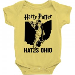Harry Potter Hates Ohio Baby Bodysuit | Artistshot