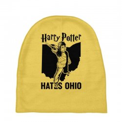 Harry Potter Hates Ohio Baby Beanies | Artistshot