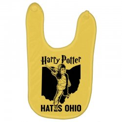 Harry Potter Hates Ohio Baby Bibs | Artistshot