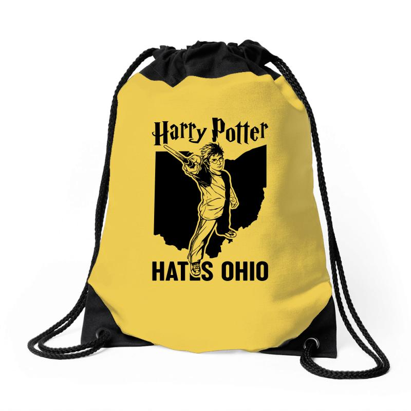 Harry Potter Hates Ohio Drawstring Bags | Artistshot