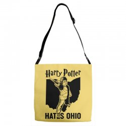Harry Potter Hates Ohio Adjustable Strap Totes | Artistshot