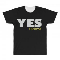 yes i know All Over Men's T-shirt | Artistshot