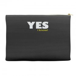 yes i know Accessory Pouches | Artistshot
