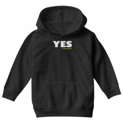 yes i know Youth Hoodie | Artistshot