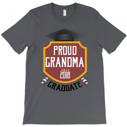 Proud Grandma Of A 2018 Graduate T-shirt Designed By Wizarts