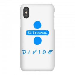 divide ed sheeran iPhoneX Case | Artistshot