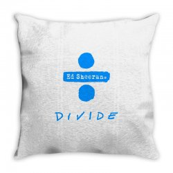 divide ed sheeran Throw Pillow | Artistshot