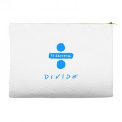 divide ed sheeran Accessory Pouches | Artistshot