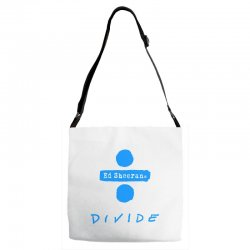 divide ed sheeran Adjustable Strap Totes | Artistshot