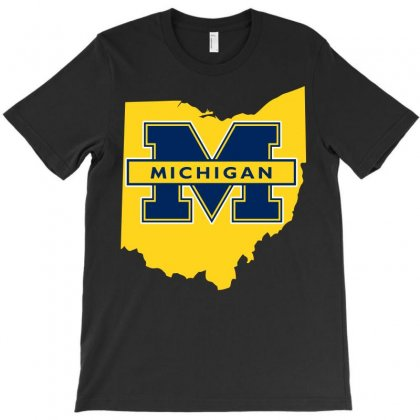 Ohio For Michigan T-shirt Designed By Yellow Star