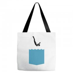 Yes, You Can Dive Tote Bags | Artistshot