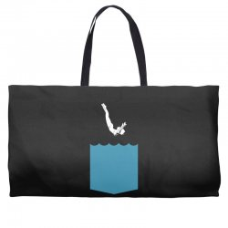 Yes, You Can Dive Weekender Totes | Artistshot