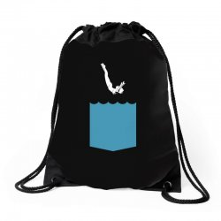 Yes, You Can Dive Drawstring Bags | Artistshot