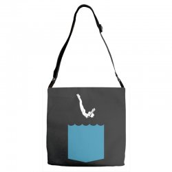 Yes, You Can Dive Adjustable Strap Totes | Artistshot