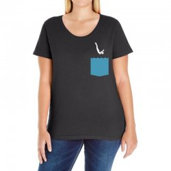 Yes, You Can Dive Ladies Curvy T-Shirt   Artistshot