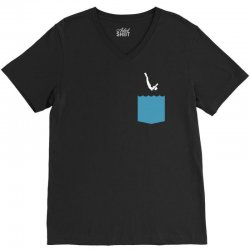 Yes, You Can Dive V-Neck Tee | Artistshot