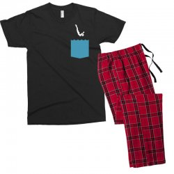 Yes, You Can Dive Men's T-shirt Pajama Set | Artistshot