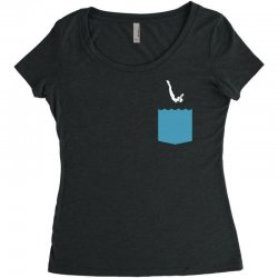 Yes, You Can Dive Women's Triblend Scoop T-shirt | Artistshot