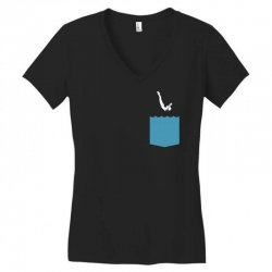 Yes, You Can Dive Women's V-Neck T-Shirt | Artistshot