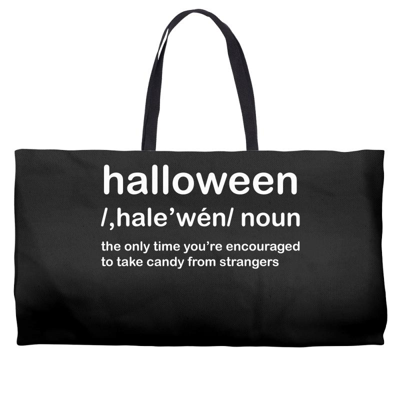 3453301317547 Custom Halloween Definition T-shirt Funny Halloween Gift Weekender ...