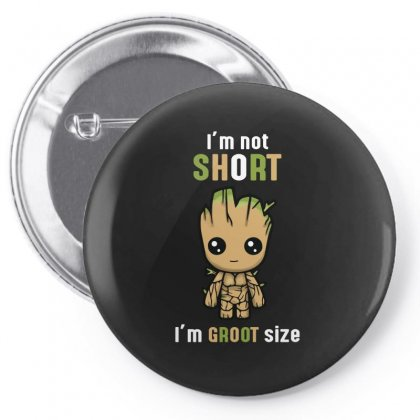 Groot Size Cool T Shirts Pin-back Button Designed By Wizarts