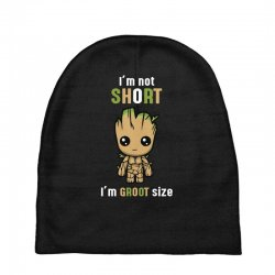Groot Size Cool T shirts Baby Beanies | Artistshot