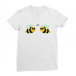 boo bees Ladies Fitted T-Shirt | Artistshot
