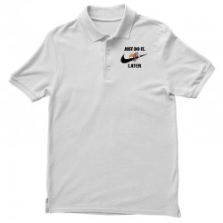 Just Do It Later Sloth Polo Shirt | Artistshot