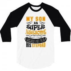 a27ef15b Custom My Son Is Super Awesome His Stepdad T-shirt By ...