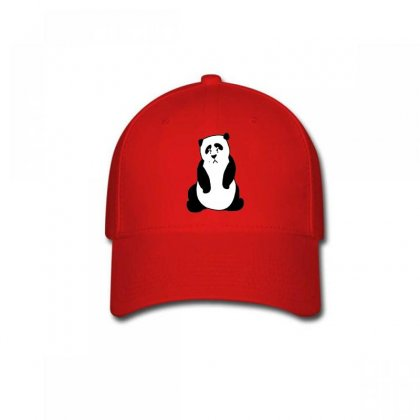 Crying Panda Embroidery Baseball Cap Designed By Justembroidery