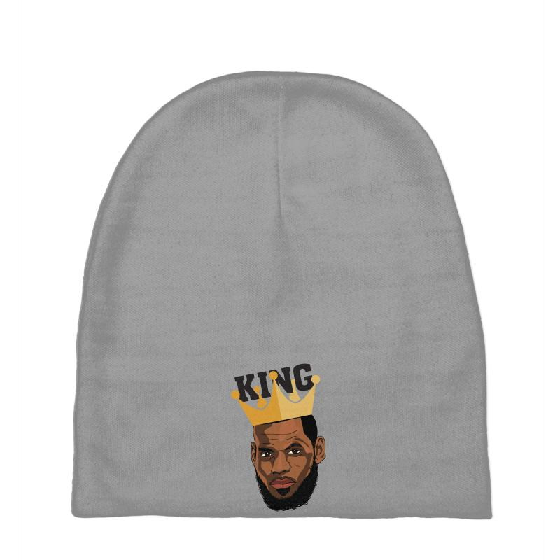 Custom King Lebron James Baby Beanies By Nurbetulk - Artistshot 15278a5eb31