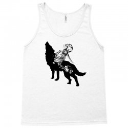 Wolf And Human Tank Top | Artistshot