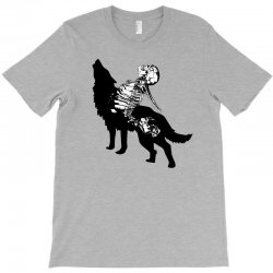 Wolf And Human T-Shirt | Artistshot