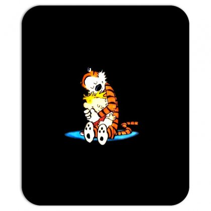 Calvin Hobbes Mousepad Designed By Radhit