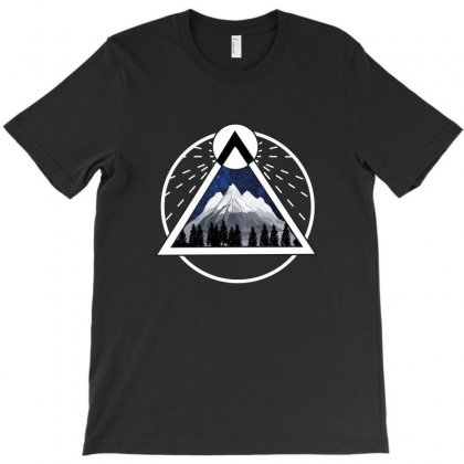 Mountain Triangle T-shirt Designed By Artistshotf1
