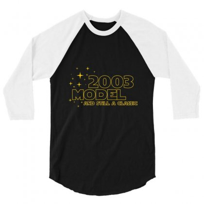 2003 Model And Still A Classic 3/4 Sleeve Shirt Designed By Wizarts