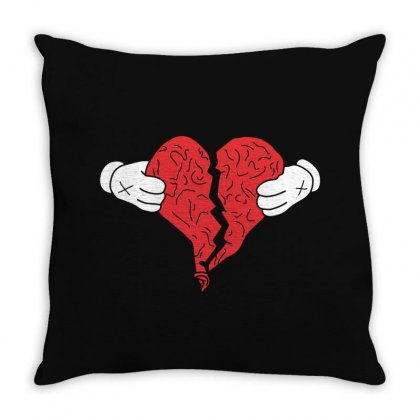 Kanye West 808s And Heartbreak Throw Pillow Designed By Akin