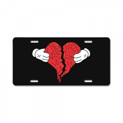 Kanye West 808s And Heartbreak License Plate Designed By Akin