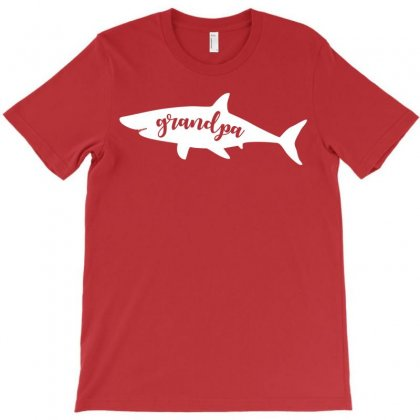 Grandpa Shark T-shirt Designed By Akin