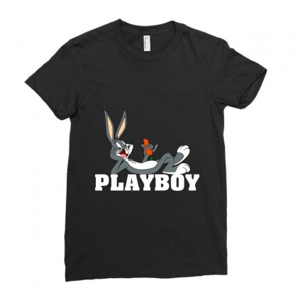 Playboy Bugs Bunny Ladies Fitted T-shirt