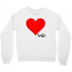 Besties Heart Family Matching Crewneck Sweatshirt | Artistshot