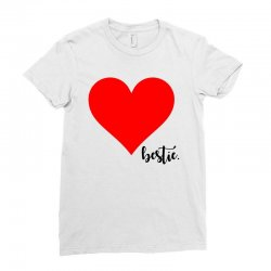 Besties Heart Family Matching Ladies Fitted T-Shirt | Artistshot
