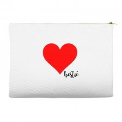 Besties Heart Family Matching Accessory Pouches | Artistshot