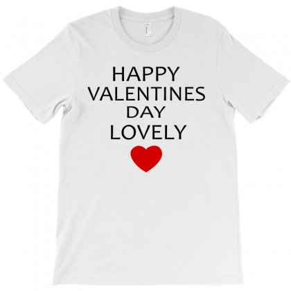 Happy Valentine Day Lovely T-shirt Designed By Ujang Atkinson