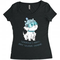 Snuffles Was My Slave Name Women's Triblend Scoop T-shirt | Artistshot